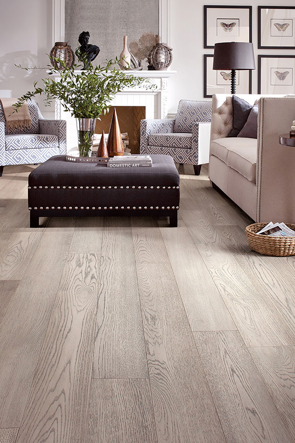 Light colored modern flooring