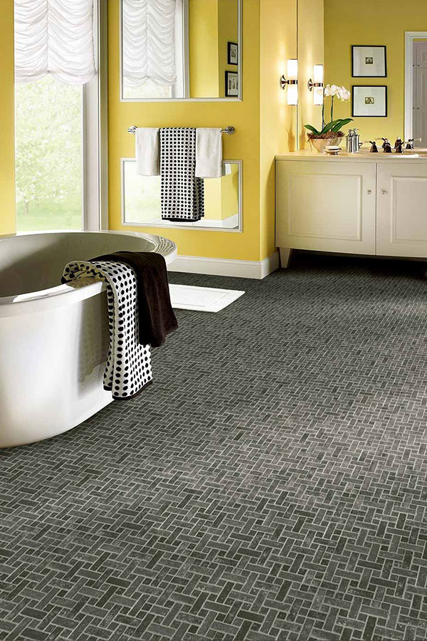 Bathroom Floor Vinyl Waterproof | Vinyl Flooring