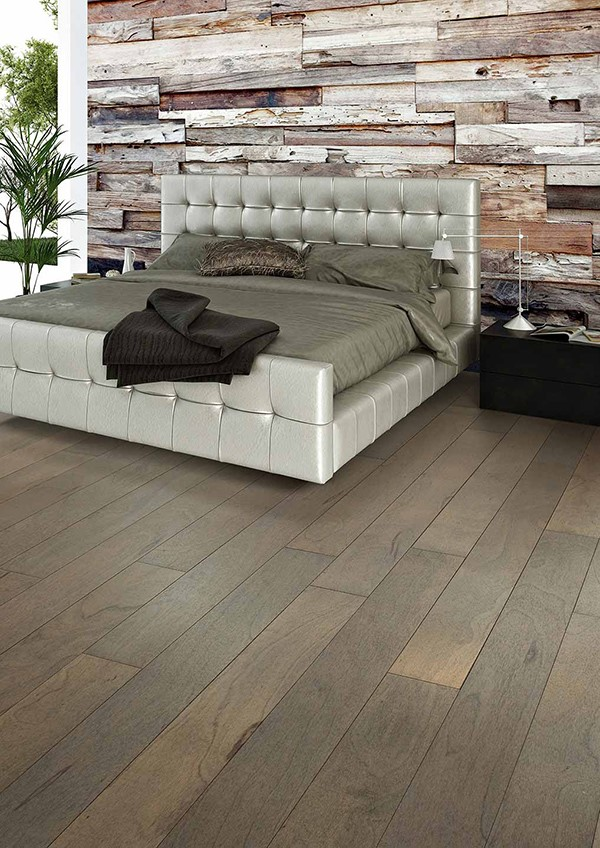 Make A Feature Wall Out Of Flooring, Pictures Of Laminate Flooring On Walls