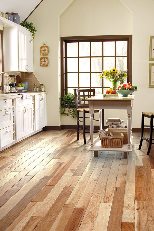 Hardwood Floors In A Kitchen