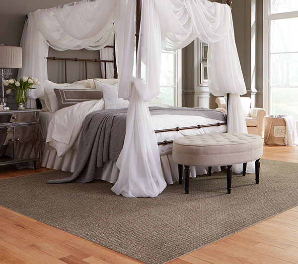 bedroom trends with white canopy