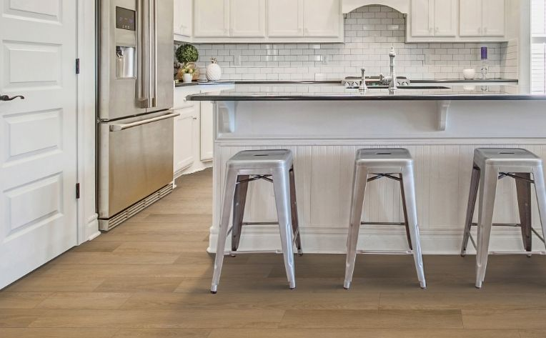 Floating Floor Kitchen Laminate Example