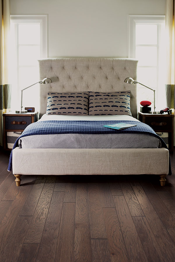 Master Bedroom With Engineered Wood Flooring