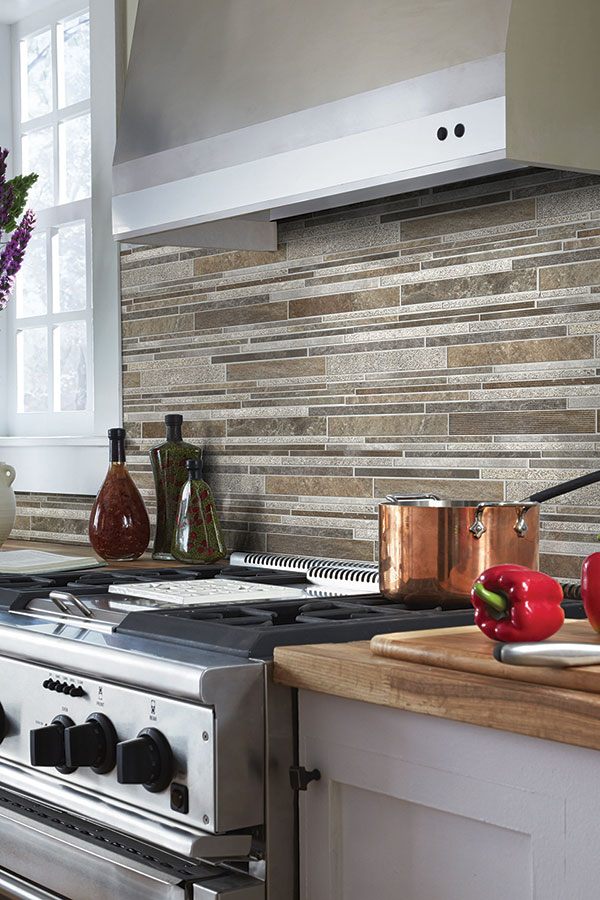 Backsplash Tile Ideas Collection linear kitchen tile backsplash
