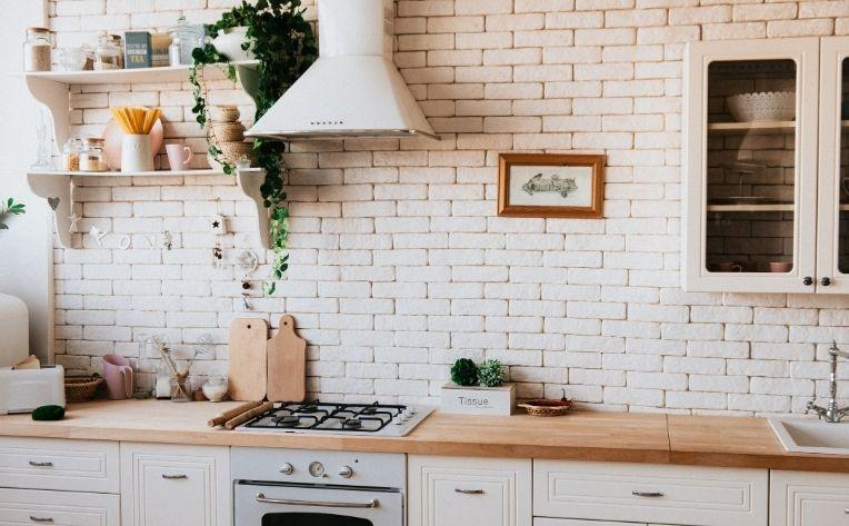 Winter 2020 Interior Design Trends in Kitchen Greenery