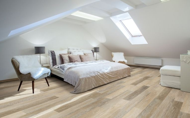 bedroom with hygge feeling