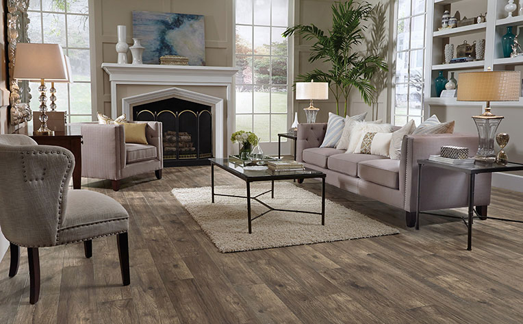 What Is Laminate Made Of Flooring