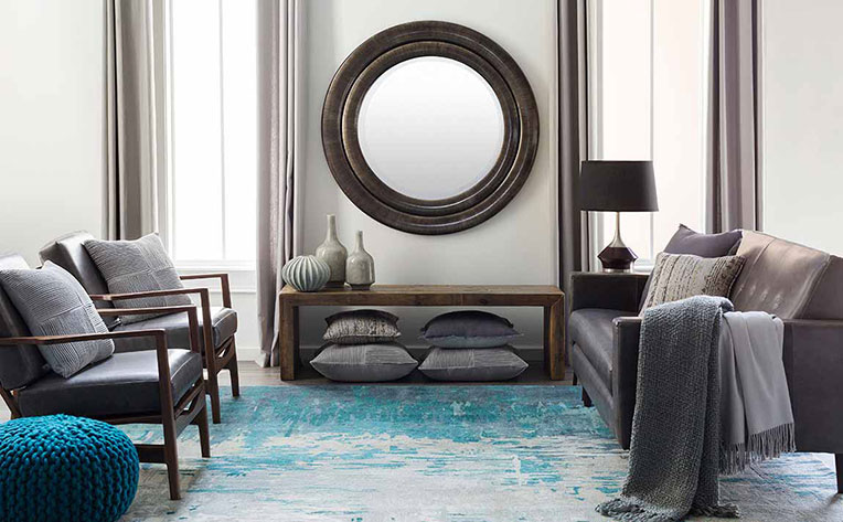 Blue Living Room Decorating Ideas & Inspiration | Flooring ...