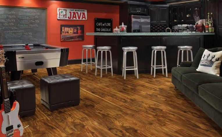 Best Flooring For Your Home Game Room, What Is The Best Flooring To Use In A Basement