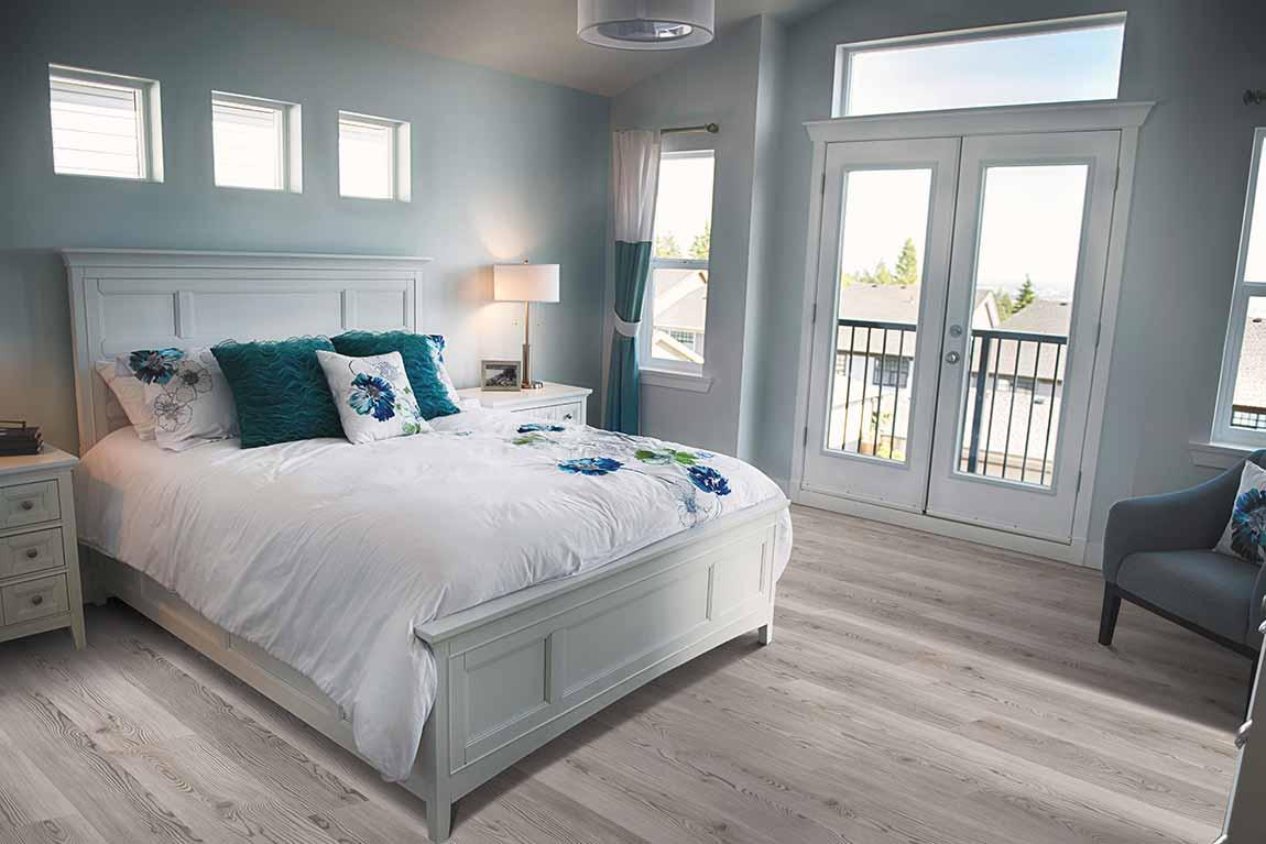 Coastal Beach House Bedroom Light Wood Look Design Ideas Flooring America