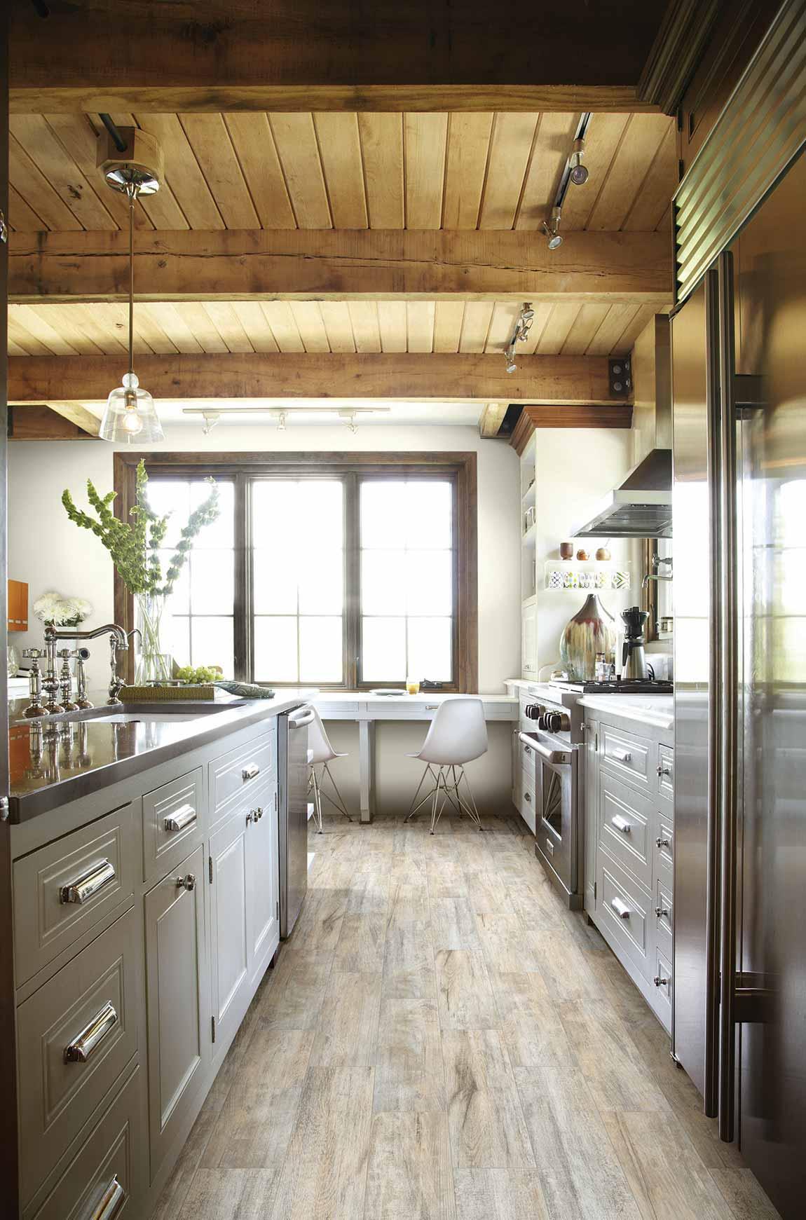 Rustic Farmhouse Kitchen Flooring Designs   Flooring America