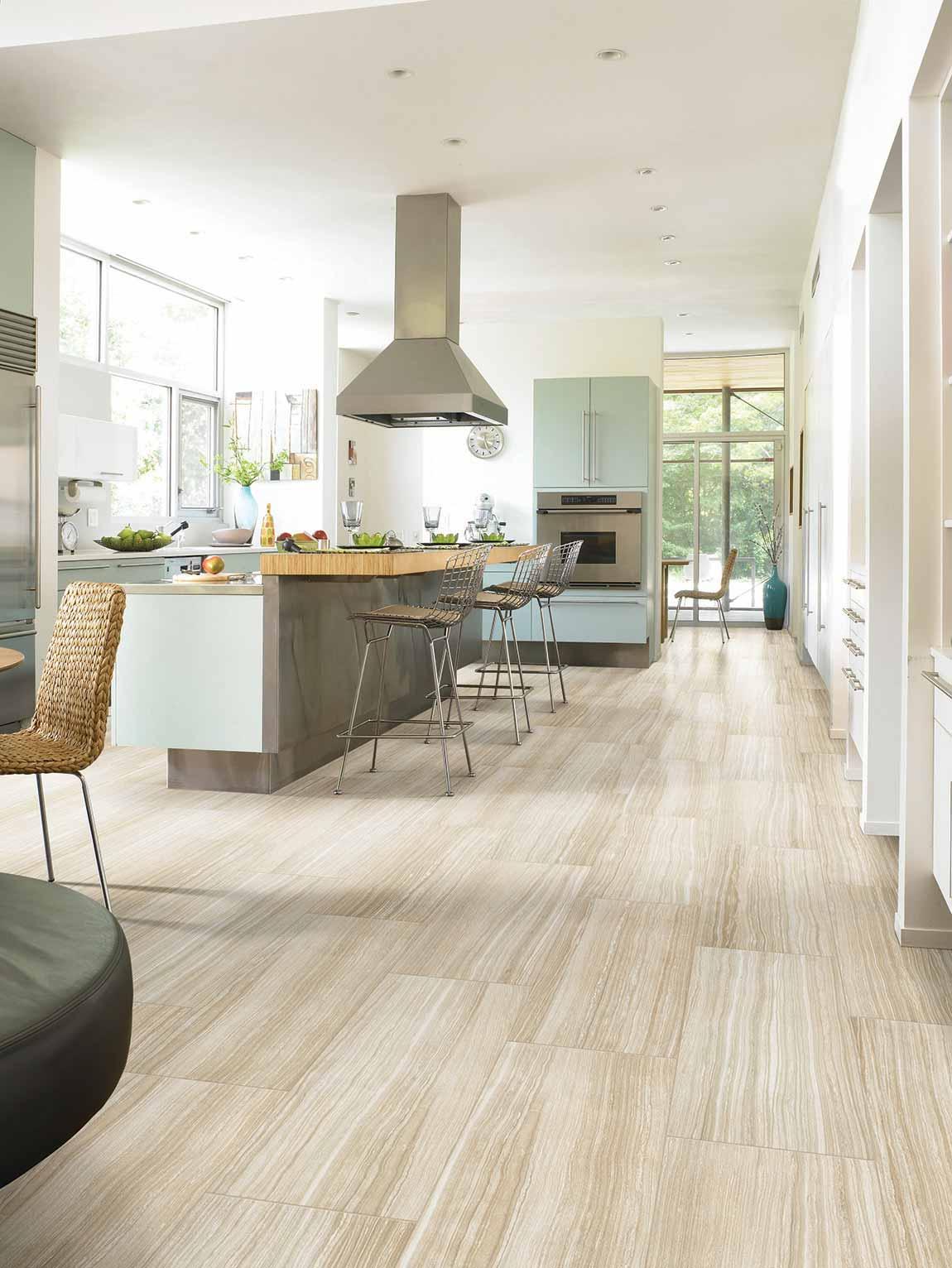Coastal Beach House Kitchen Flooring Designs | Flooring America