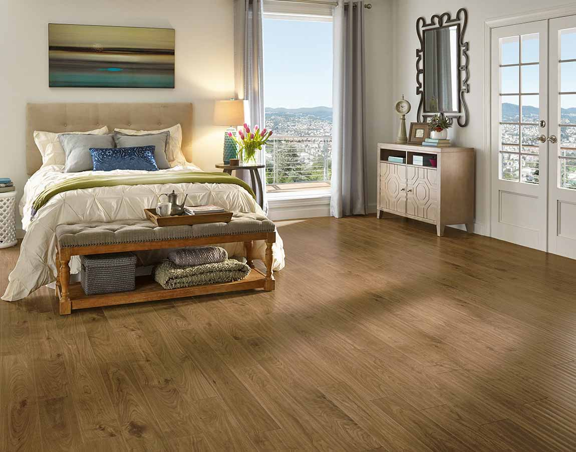 Modern & Contemporary Bedroom Flooring Designs  Flooring America
