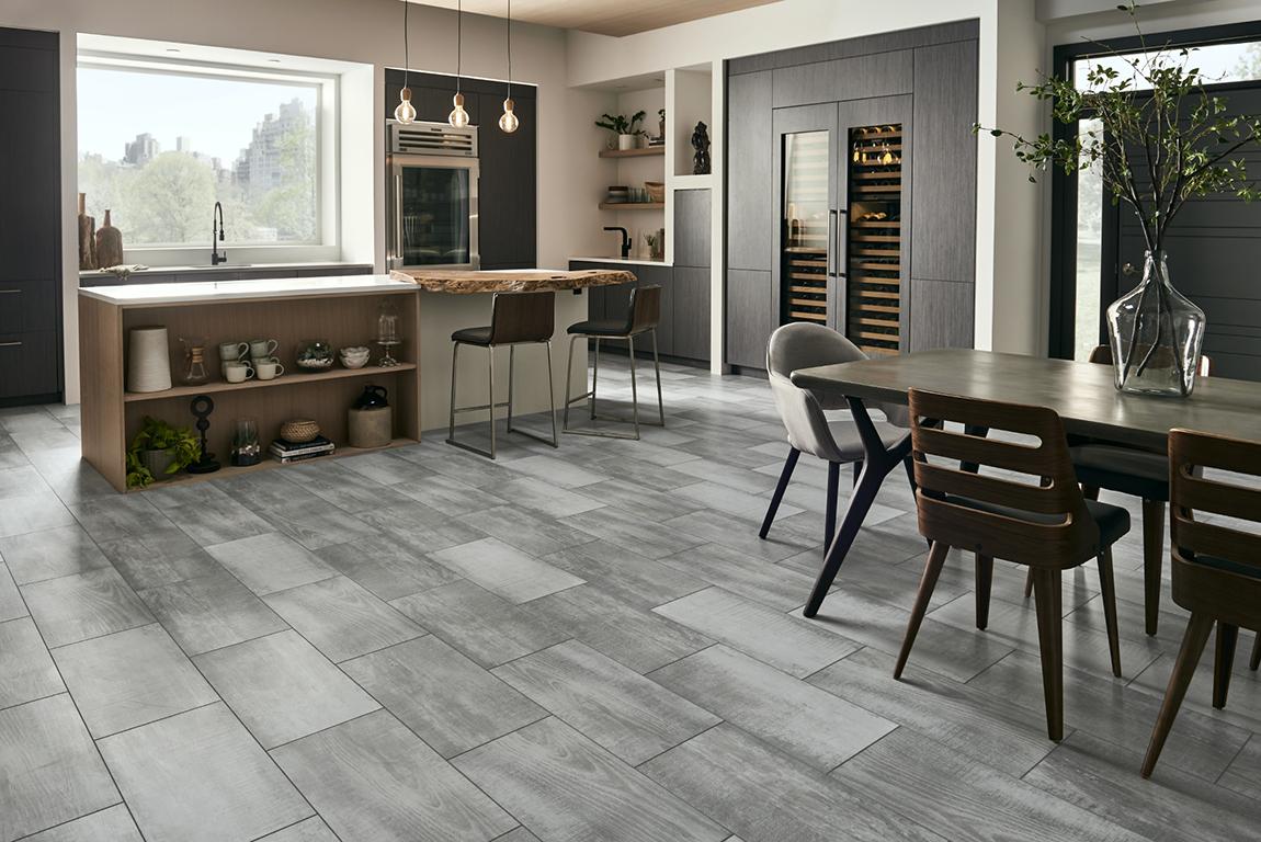 Tile Modern Contemporary Dining Room Flooring Designs Flooring America