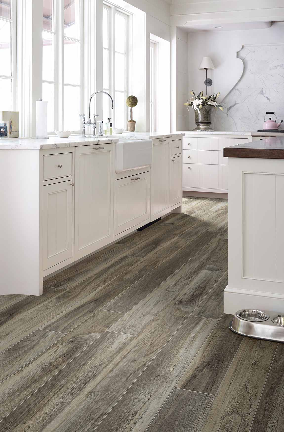 Coastal Beach House Kitchen Flooring Designs Flooring America