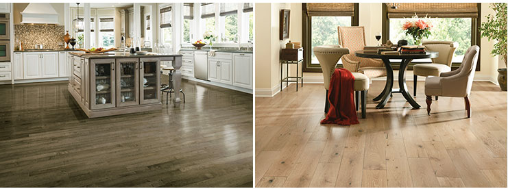 Armstrong Hardwood kitchen dining room - Armstrong Hardwood Floors Hardwood Flooring Flooring America