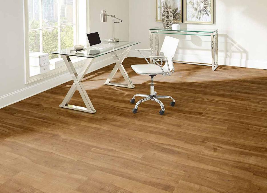 luxury vinyl home office